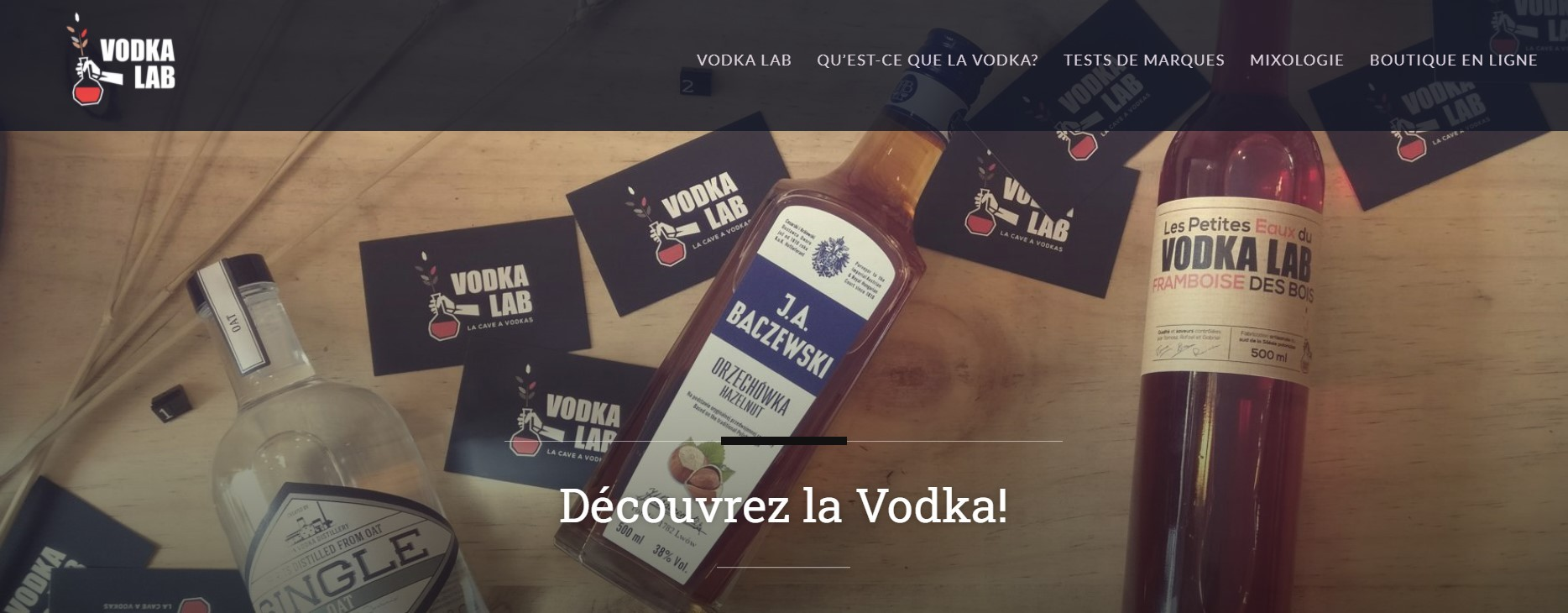 LE BLOG VODKA LAB